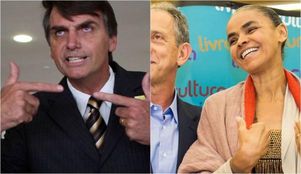 Por não faturar politicamente em cima de sua religião, Marina Silva pode perder o apoio dos evangélicos para Bolsonaro