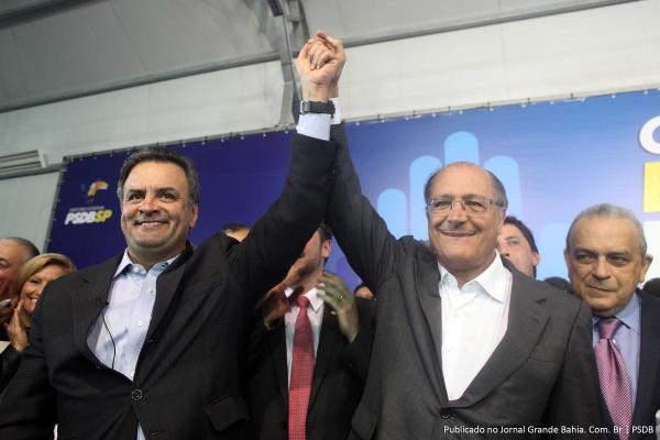 Aliado de Aécio, Alckmin disse que ''Ninguém está acima da lei'' se referindo ao ex-presidente Lula