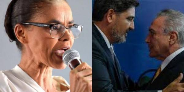 REDE DE MARINA SILVA PEDE AFASTAMENTO SEGOVIA DA DIREÇÃO DA PF POR DEFENDER TEMER