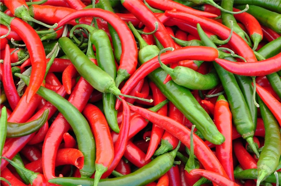 Estudo liga consumo de pimenta a longevidade