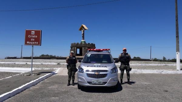 NOVAMENTE: Casal é assaltado ao visitar o Cristo do Magano, em Garanhuns
