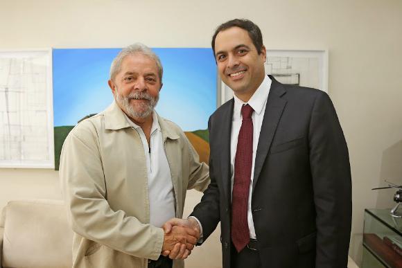 """""""Todo pernambucano tem gratidão por Lula"""", afirma Paulo Câmara"""
