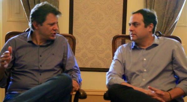 Em acordo com PSB, PT Nacional quer Márcio Lacerda na vice de Fernando Haddad
