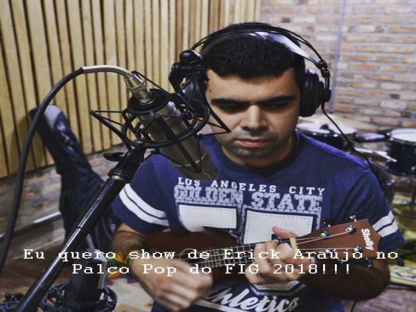 MÚSICA DE ARTISTA GARANHUENSE SERÁ APRESENTADA EM PROGRAMA NA RÁDIO USP FM