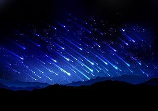 Você já viu uma chuva de meteoros? Então, prepare-se