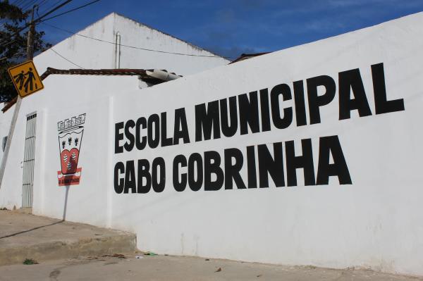 Escola Municipal Cabo Cobrinha: A tradicional escola Cabo Cobrinha recebe novas instalações