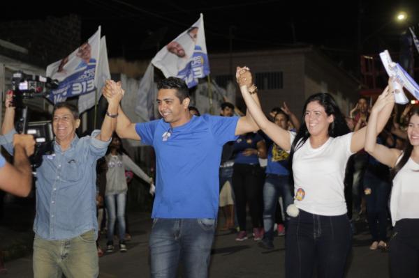 Fernando Rodolfo recebe apoio de lideranças e da população por todo o Agreste