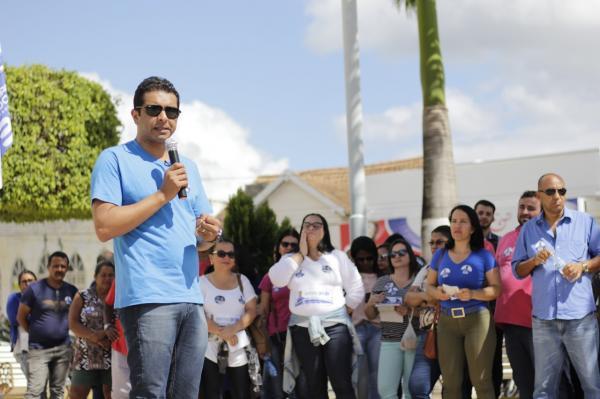 Fernando Rodolfo recebe apoio do Sindicato dos Professores de Bom Conselho
