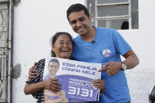 NA RETA FINAL: Jornalista Fernando Rodolfo intensifica campanha no Agreste e confia na vitória