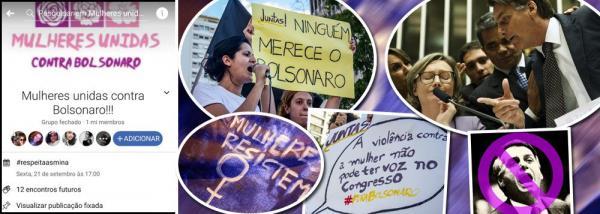 Pernambucanas fazem ato contra Bolsonaro no Recife