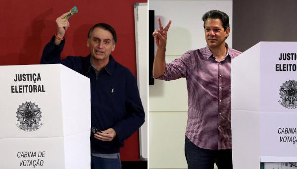 RETA FINAL, IBOPE: Nova pesquisa presidencial aponta Bolsonaro com 57% e Haddad 43% - votos validos.