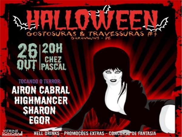 Festa Halloween agita Garanhuns nesse fim de semana