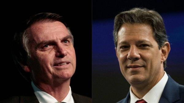 Nova pesquisa Datafolha: Bolsonaro, 56%; Haddad, 44% - votos válidos