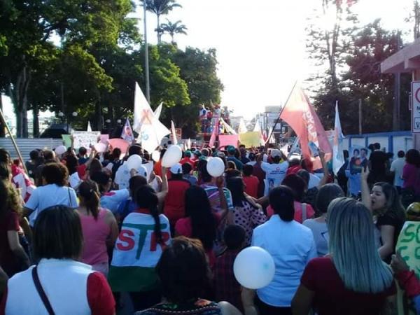 Na terra natal de Lula, garanhuenses vão às ruas em apoio a Fernando Haddad