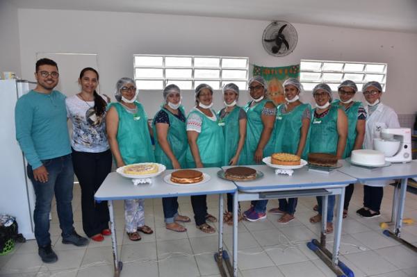 JUPI: Prefeitura de Jupi e Senar realizam Curso de Bolos e Tortas