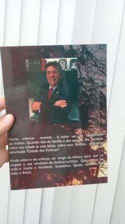 GIVALDO LANÇA LIVRO DE CRÔNICAS