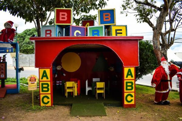 Casinha da Educação é alternativa para crianças em 'A Magia do Natal'