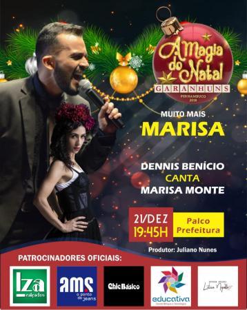 MUITO MAIS MARISA: Dennis Benício canta Marisa Monte