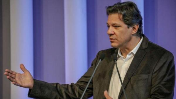 Durante a sua passagem pelos Estados Unidos, Haddad disse que o Brasil pode crescer com governo de Bolsonaro