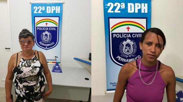 Polícia Civil prende duas mulheres transportando droga dentro de um taxi em Garanhuns