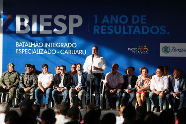 BIEsp de Caruaru completa um ano de atividades contabilizando 35% de redução dos homicídios