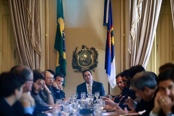 Paulo Câmara alinha prioridades de Pernambuco com a nova bancada federal