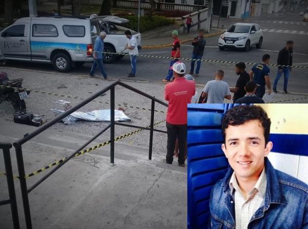 PROFESSOR MORRE APÓS COLIDIR COM MOTO NAS ESCADARIAS DA PRAÇA MESTRE DOMINGUINHOS