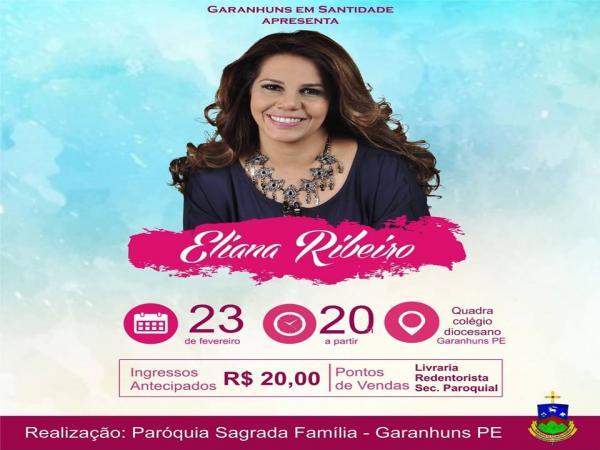Garanhuns em Santidade com Eliana Ribeiro
