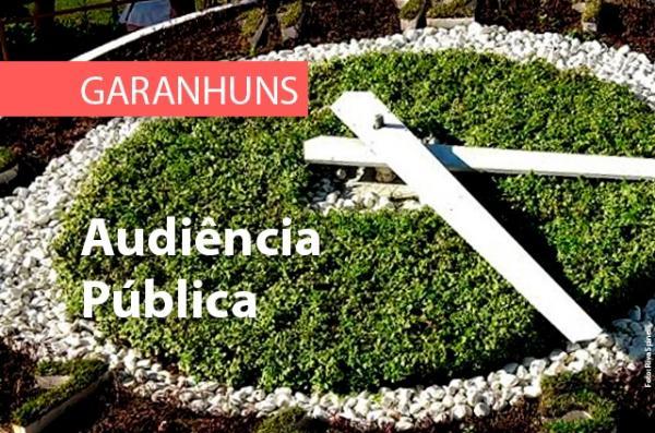 GARANHUNS: MPPE promoverá Audiência Pública para discutir temas de interesse social com a comunidade do bairro da Massaranduba