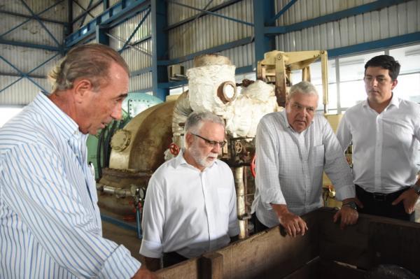 Secretário Dilson Peixoto conhece inovações tecnológicas em visita à Usina Petribu