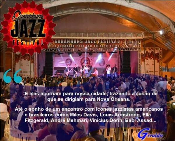 JAZZ GARANHUNS FESTIVAL