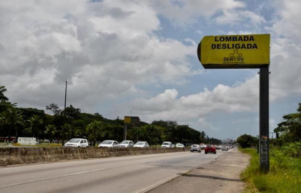 Saiba quais são as lombadas eletrônicas que foram desligadas em Pernambuco durante o carnaval