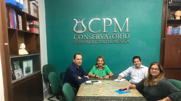 Deputado Sivaldo Albino se articula para trazer unidade do Conservatório Pernambucano de Música para Garanhuns