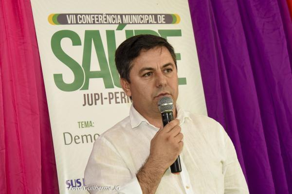JUPI: Secretaria Municipal de Saúde realiza VII Conferência de Saúde