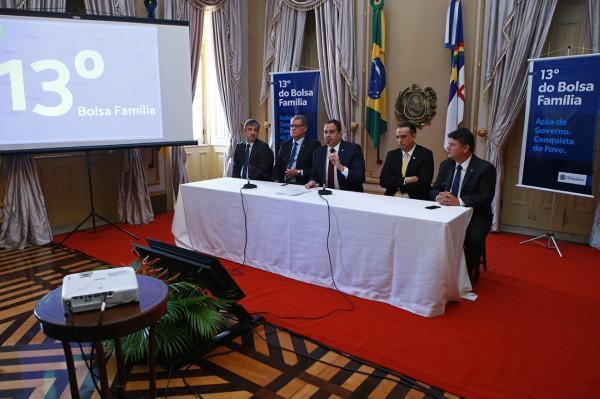 Governo do Estado assegura o 13º do Bolsa Família e regulamenta a Nota Fiscal Solidária