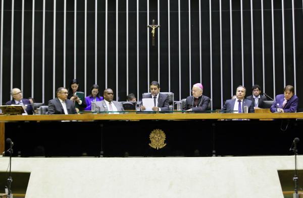 : Homenagem ocorreu em sessão solene no Plenário da Câmara. Foto: Najara Araujo / Câmara dos Deputados