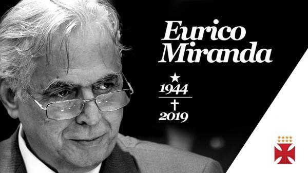 Morre Eurico Miranda, o destemido presidente do Vasco a Gama, aos 74 anos