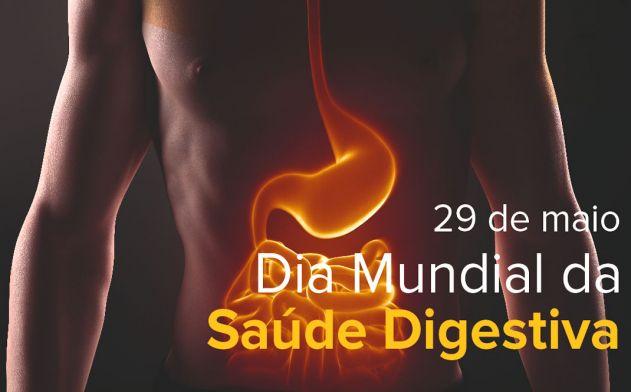 Dia 29 alerta contra doenças do sistema digestivo