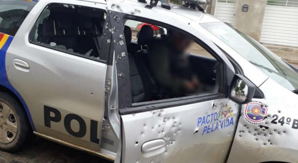 Policial é morto e outro fica ferido durante troca de tiros em Santa Cruz do Capibaribe
