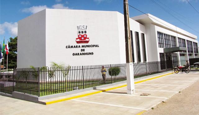 Vereadores de Garanhuns votam nesta quarta-feira pelo aumento de vagas para a próxima legislatura