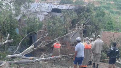 APAC explica chuvas e ventos fortes ocorridos nesta sexta na capital, Sertão e Agreste do Estado