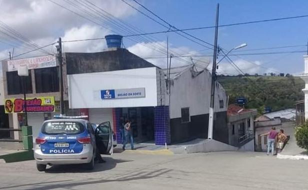 Elementos armados assaltaram Casa Lotérica em Brejão, e levaram mais de 90 mil
