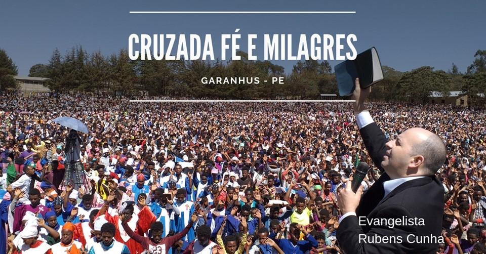 Garanhuns recebe a Cruzada Internacional Fé e Milagres