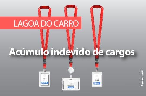 MPPE recomenda à Prefeitura de Lagoa do Carro tomar providências acerca dos servidores que estejam acumulando cargo público indevidamente