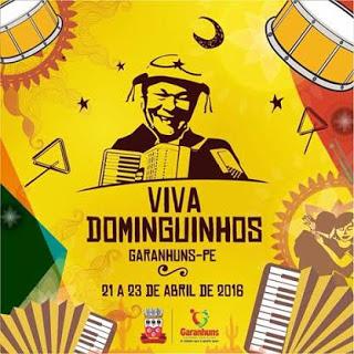Programação oficial do Festival Viva Dominguinhos 2016 deve ser divulgada  amanhã! (10/03)