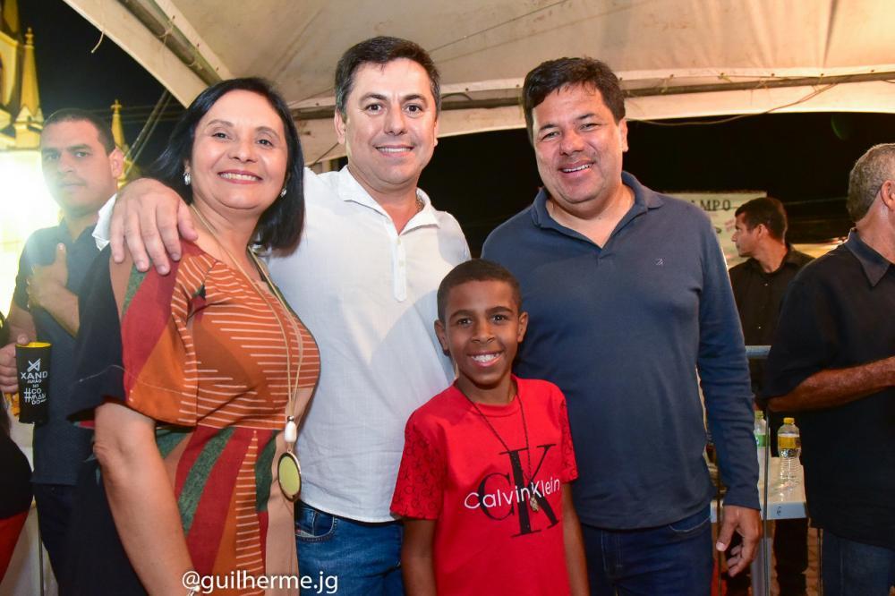 Jupi comemora sucesso da Festa do Rosário