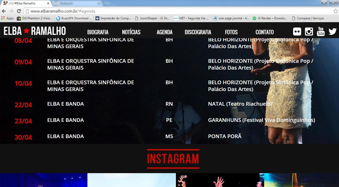 Elba Ramalho Confirmada no Viva Dominguinhos 2016