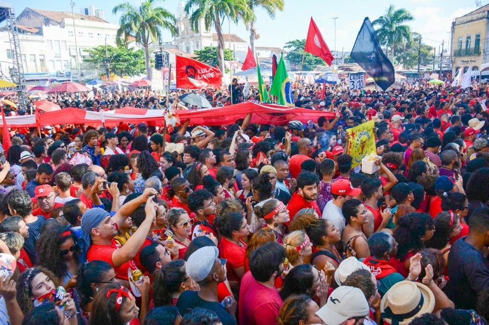FESTIVAL LULA LIVRE: Lula reuniu mais gente no Recife do que protestos contra Gilmar no país inteiro