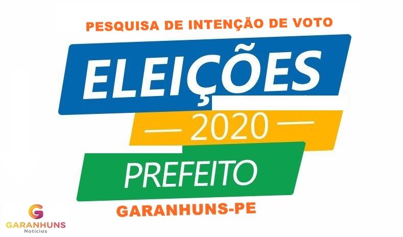 ELEIÇÕES 2020: Divulgada nova pesquisa de opinião pública encomendada por empresários de Garanhuns