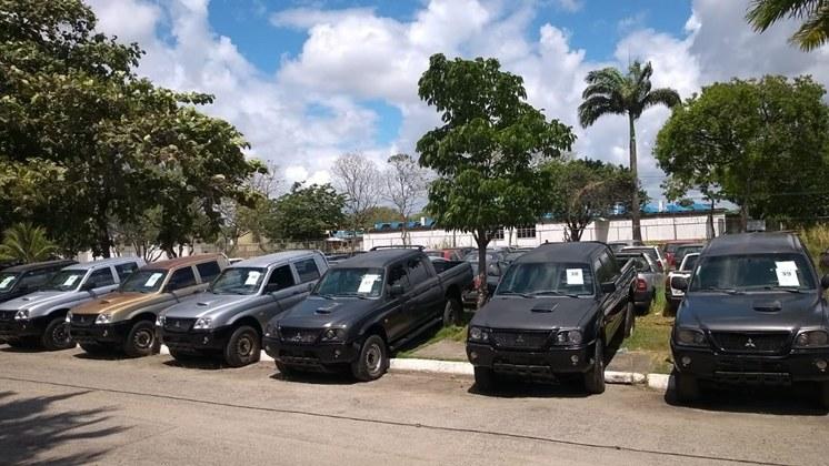 Polícia Federal realizada segundo leilão de viaturas de Pernambuco